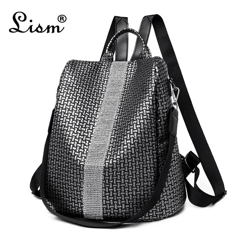 Travel Backpack Pattern-Bag Girls Bag Women Mochila Masculina Leisure Elephant -P30
