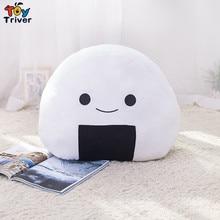 Plush Japan Sushi Rice Pillow Office Nap Chair Sofa Back Cushion Home Shop Decoration Baby Girl Boy Kids Birthday Gift Triver