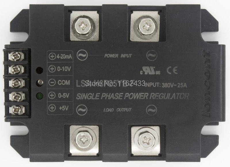 LSA-H3P25YB-F single phase AC 25A 380V closed loop negative feedback solid state voltage regulator / power regulator moduleLSA-H3P25YB-F single phase AC 25A 380V closed loop negative feedback solid state voltage regulator / power regulator module