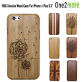 Luxury 100% Natural Wood Cases for iPhone 6 6s PLUS Bamboo Carving Phone Wooden Protective Hard Case Cover iPhone6 6PLUS
