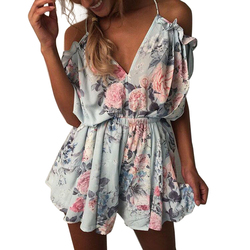 2017 new women summer v neck jumpsuit off shoulder beach elegant ruffles print romper boho jumpsuit.jpg 250x250