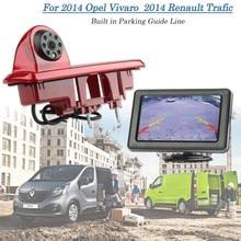 Vardsafe Резервного Копирования Заднего Стоп-Сигнал Камеры Для Opel Vivaro/Vauxhall Vivaro/Renault Trafic 2014
