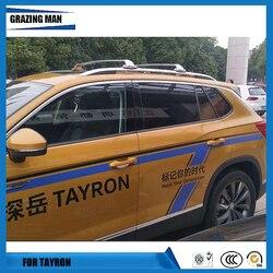 Tayron gorąca sprzedaż ze stali nierdzewnej dedykowany poprzeczka obciążenia bagażnik dla Tayron akcesoria samochodowe w Bagażniki i boksy dachowe od Samochody i motocykle na