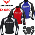 2016 New Authentic DUHAN D-089 Moto riding clothes Jackets motocross motorcycle  jacket Male Motorbike Rally clothing 3 colors