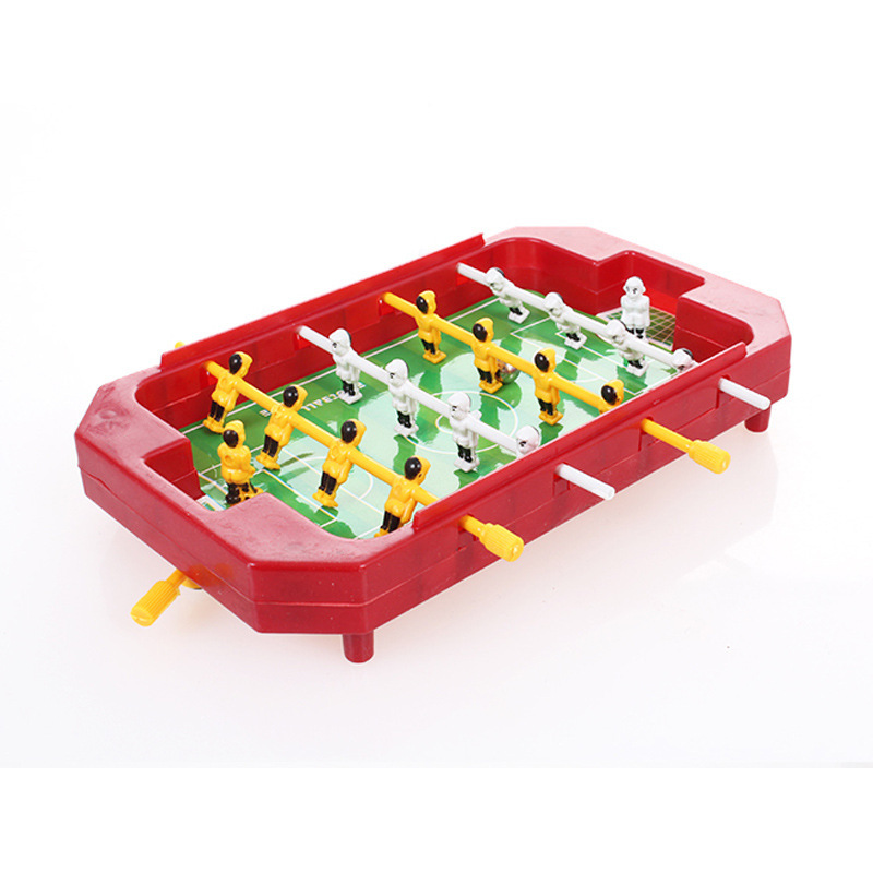 Mini children football tabletop football toy for children kids table sports interactive toys 4 Pole Desktop Toys Games