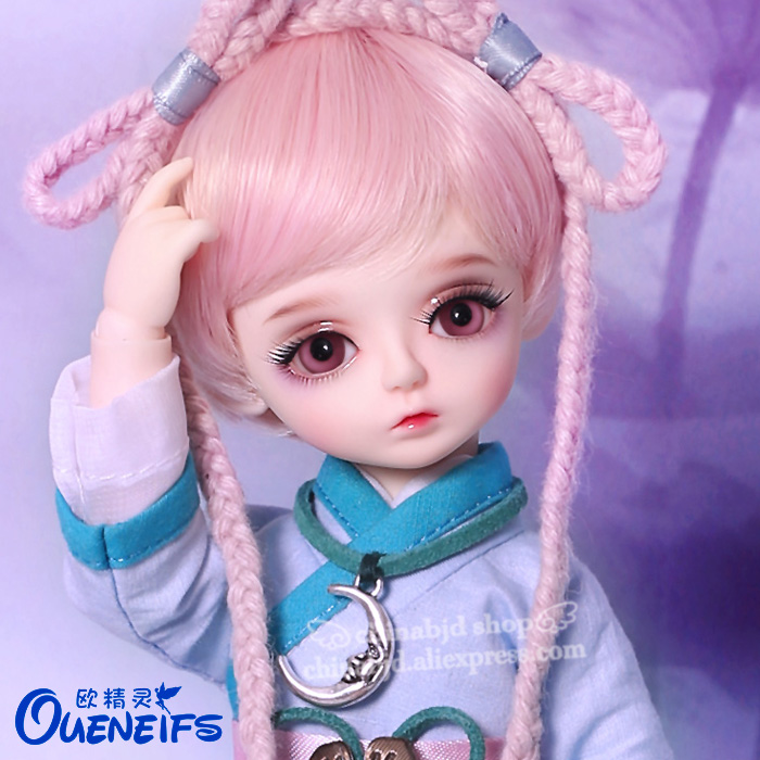 OUENEIFS Free Shipping Lami 1/6 BJD SD Doll Model Baby Girls Boys Eyes High Quality Toys Shop Resin Figures Gift For Christmas