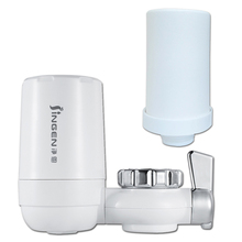 цены Portable Home Tap Water Filter Purifier with 2 Inner Filters Water Cleaner Drinking Water Fiter