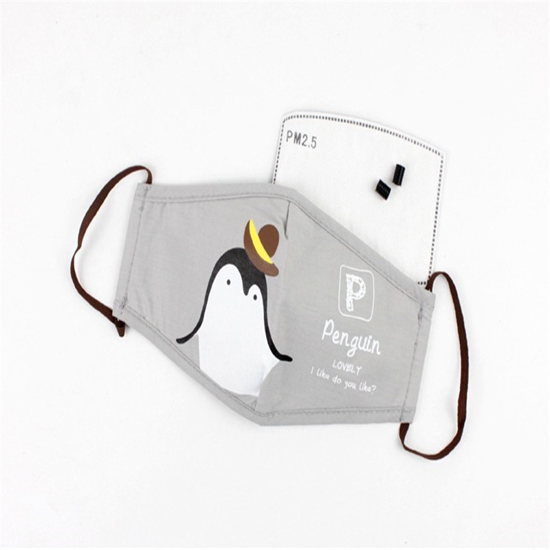 5 Teile/beutel Die Neue Staub-proof Dunst Atmungsaktive Maske Meng Meng Familie Von Herkömmlichen Schutz Maske Vlies Stoffe Damen-accessoires