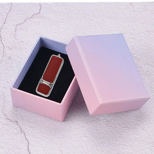 10pcs Leather USB Flash Drive 1GB 2GB 4GB 8GB 16GB U Disk pen drive metal usb stick USB 2.0, Birthday/Wedding gift. цена 2017