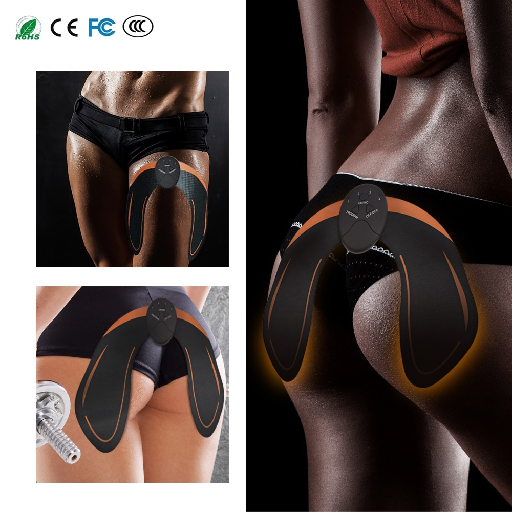 EMS Hip Muscle Stimulator Buttocks Butt Lifting Therapy Massager Smart Wireless Buttocks Hips Trainer Fitness Slimming