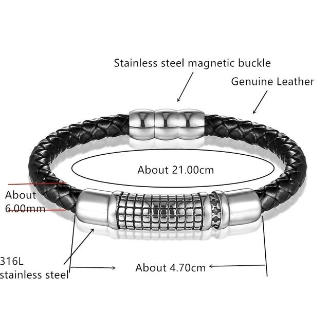 Новинка 2018 европейские модные браслеты из нержавеющей стали