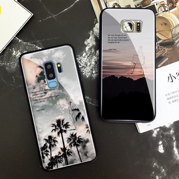 Rupi kaur poems quotes memes Soft Silicone Glass Phone Case Shell Cover For Samsung Galaxy S7 Edge S8 S9 Plus Note 8 9 10 Plus image