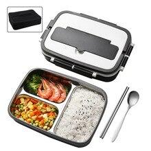 1000 мл здоровый жизнь японский контейнер для обеда стиль Benta коробка с палочки для еды и ложки бесплатно открытый контейнер для хранения еды