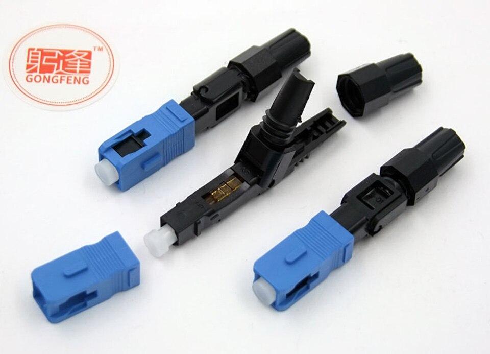 200 pcs NEW GONGFENG SC Fibra Óptica Rápida Conector Frio FTTH SC Single  Mode UPC Conector Rápido atacado Enviados para rússia em Conectores de  Melhoramento ... da1cd85112