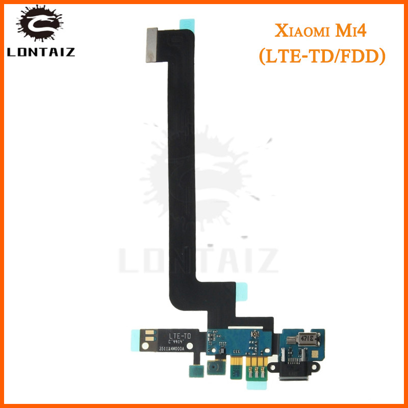 For Xiaomi 4 Mi 4 Mi4 M4 Microphone Module USB Charging Port Board Flex Cable Connector High Quality image