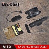 Элемент Airsoft тактический реч зеленый лазер LA 5C блок II ИК и зеленый лазер WMX200 тактический фонарь мерцающий версия UHP логотип EX424