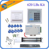 620 LBs Kit Electric Door Lock Magnetic Access Control ID Card Password System For Video Door