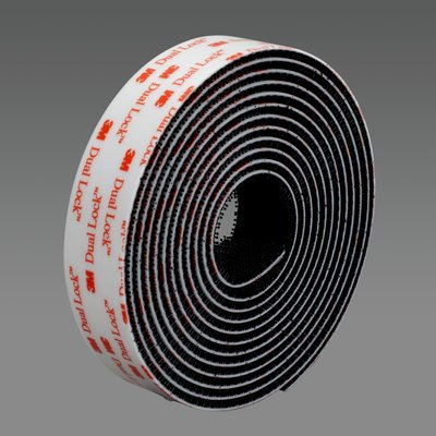 100% 3M Original brand products Black Acrylic double sided  tape SJ3551 dual lock tape 1 in * 50 yards  1 roll adhesive tape high heat resistance double sided acrylic foam tape for vibration sound damping in cold condition 20mmx30m pc 2pcs lot