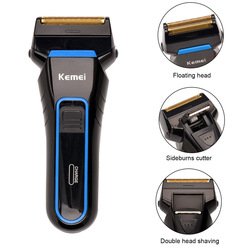 100 240v electric cordless rechargeable reciprocating double blades shaver for men shaving machine barbeador rcs98hq 48w.jpg 250x250
