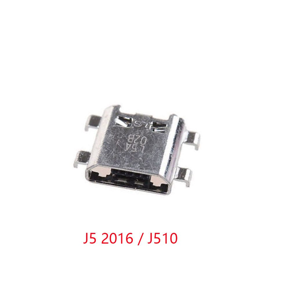 100x Micro USB Charging Port Jack Connector For Samsung