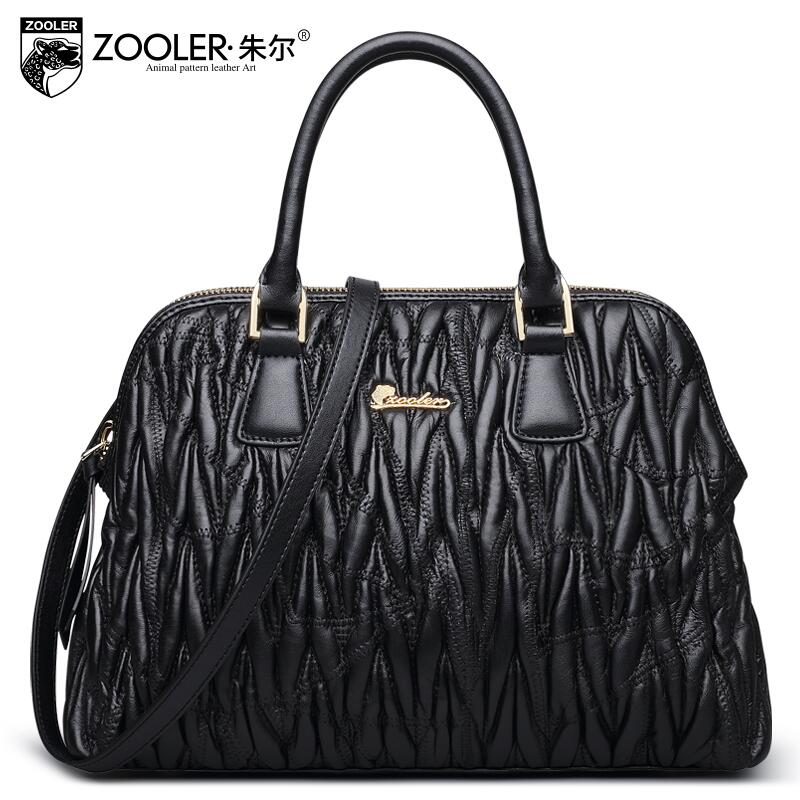 ZOOLER2016 new high quality fashion luxury brand Shoulder Messenger genuine leather bag counter genuine female well