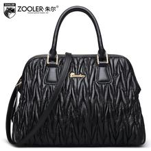 ZOOLER2016 new high-quality fashion luxury brand Shoulder Messenger genuine leather bag counter genuine female well-known brands