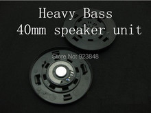 40mm speaker unit DIY maintenance upgrade fever headphones large unit 40MM headset speaker deep bass 1pair=2pcs