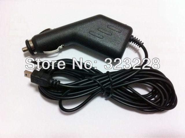 3.4M 10Ft Mini USB 5V 2A Car Charger for Car Vehicle Recorder DVR Camera GPS