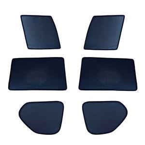 Image 2 - Seite Windows Magnetische Sonne Schatten UV Schutz Ray Blockieren Mesh Visier Fit Für Renault Kadjar 2016 2018