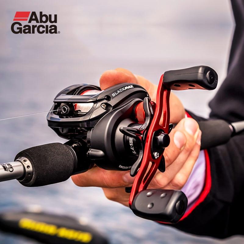 Abu Garcia Black Max 3 BMAX3 Baitcasting Reel 4+1BB 6.4:1 Water Drop Wheel High Speed Freshwater Fishing Accessories Pesca Reel
