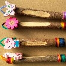 Eco-wooden ручка может быть настроены творческий завод отрасли ремесло ручка как подарок реклама использования в офисе / логос компаний, входящих