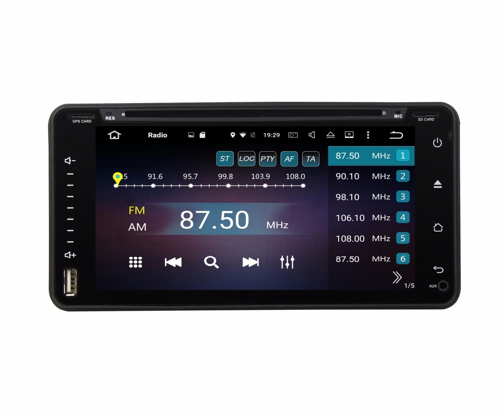 Octa Core Android 6.0 Car DVD GPS for toyota RAV4 Corolla Terios Fortuner Prado Land Cruiser 4GB RAM Radio Mirror-link