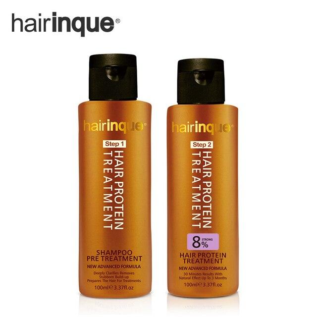 Shampoing pour cheveux a la keratine