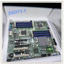X8DT3-F X58 двойной 1366 материнская плата