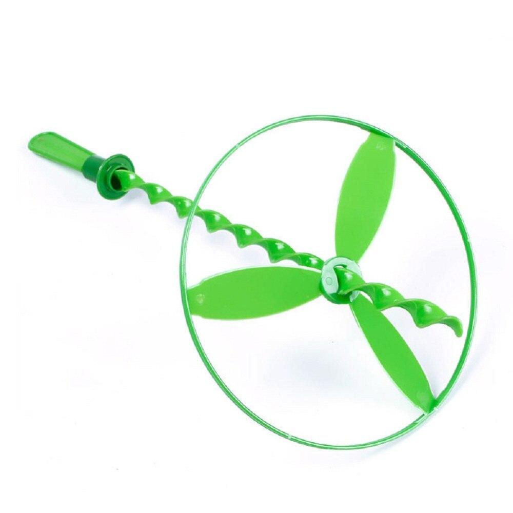 Nieuwe 5 stks Kinderen Speelgoed Vliegende Schotel Disc Twisty Pull String Diverse Helikopters Fairy Boomerang Speelgoed Gift Goedkope Prijs