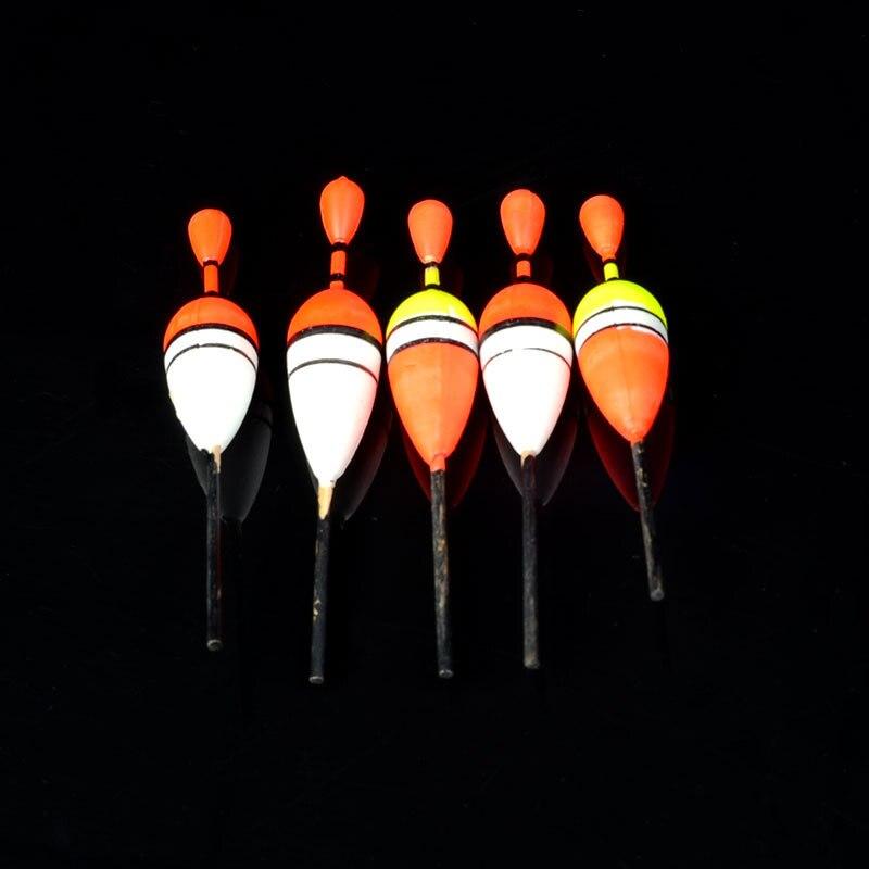 HLES 1 lot/15pcs Assorted Sizes Lot Fishing Lure Floats Bobbers Slip Drift Tube Tools