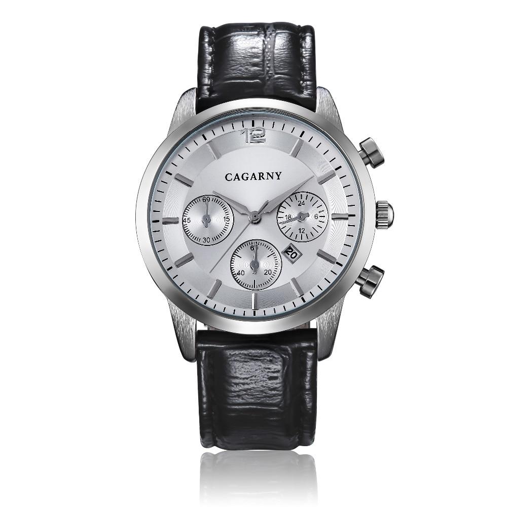 Hot Fashion Horloges Super Man Top Luxe Merk Cagarny Horloges Mannen - Herenhorloges - Foto 4