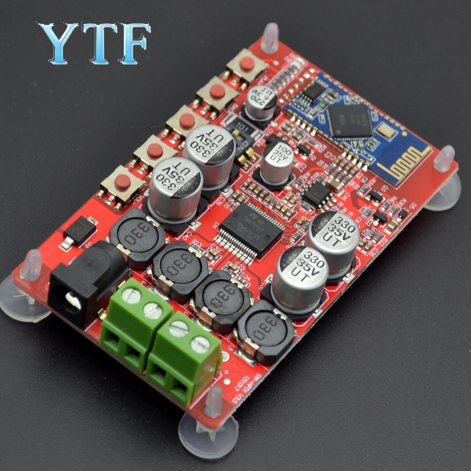 TDA7492P 50W+50W Wireless Bluetooth 4.0 Audio Receiver Digital Amplifier Board 1pcs