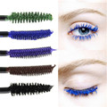 Mascara Blue Purple Brown Gradient Colorful Curling Eyelash Cosmetic 5 Colors Selectable