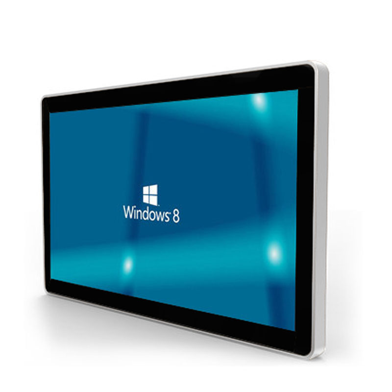 Affichage numérique interactif d'intérieur polychrome d'écran tactile d'affichage à cristaux liquides de bâti de mur d'affichage de la publicité Android de 21.5 pouces