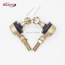 1 par de M10 M10 kits de extremidade de haste de gravata, adequado para junção esférica da china atv 50cc 110cc 150cc 200cc 250cc 300cc go karting quads peças de bicicleta