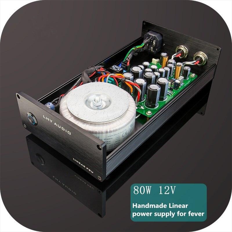 L-026 80 W DC linéaire tension constante alimentation DC12V fiévreux audio boîte de disque dur NAS routeur PC HiFi