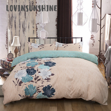 LOVINSUNSHINE Quilt Cover Queen Comforter Bedding Sets King Flower Parrure De Lit AB#119