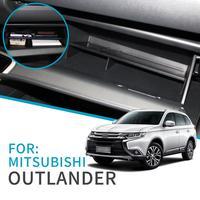 Smabee 자동차 글러브 박스 간격 Mitsubishi Outlander 2013 ~ 2019 액세서리 콘솔 Tidying Central Co-pilot Storage Box