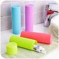 Simples ondulado escova de dentes de viagem caixa de armazenamento de equipamento dental, Produtos de higiene pessoal, Papelaria lápis de armazenamento creme