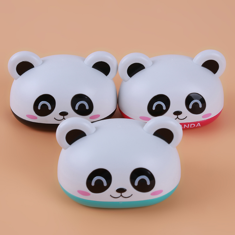 Cute Cartoon Panda Home Bathroom Waterproof Soap Box