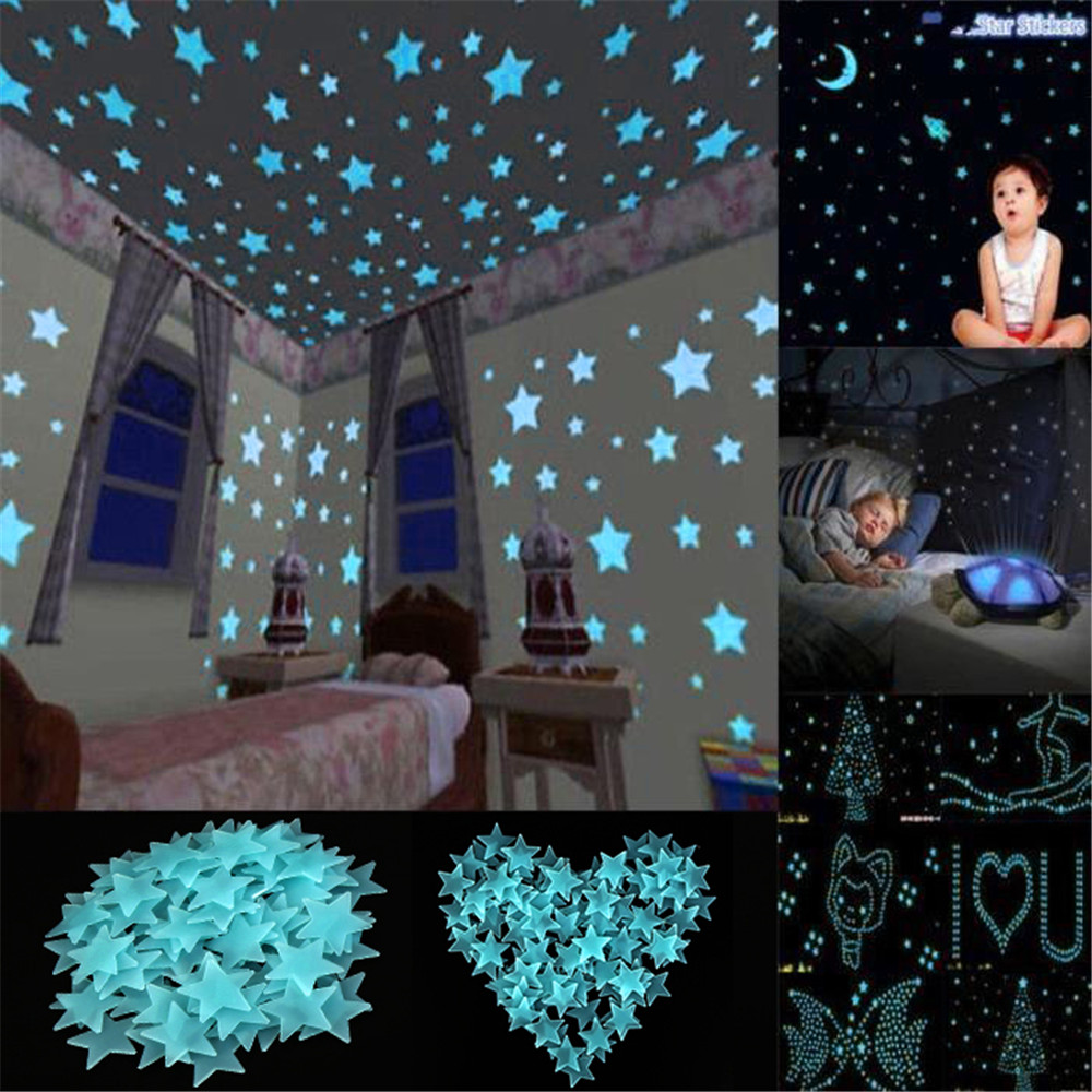 Wall Stickers Glow In The Dark Star