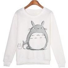Totoro Moleton Feminino Hoodies Sweatshirt