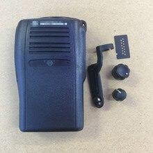 De voorkant case behuizing shell voor motorola gp328plus walkie talkie walkie talkie