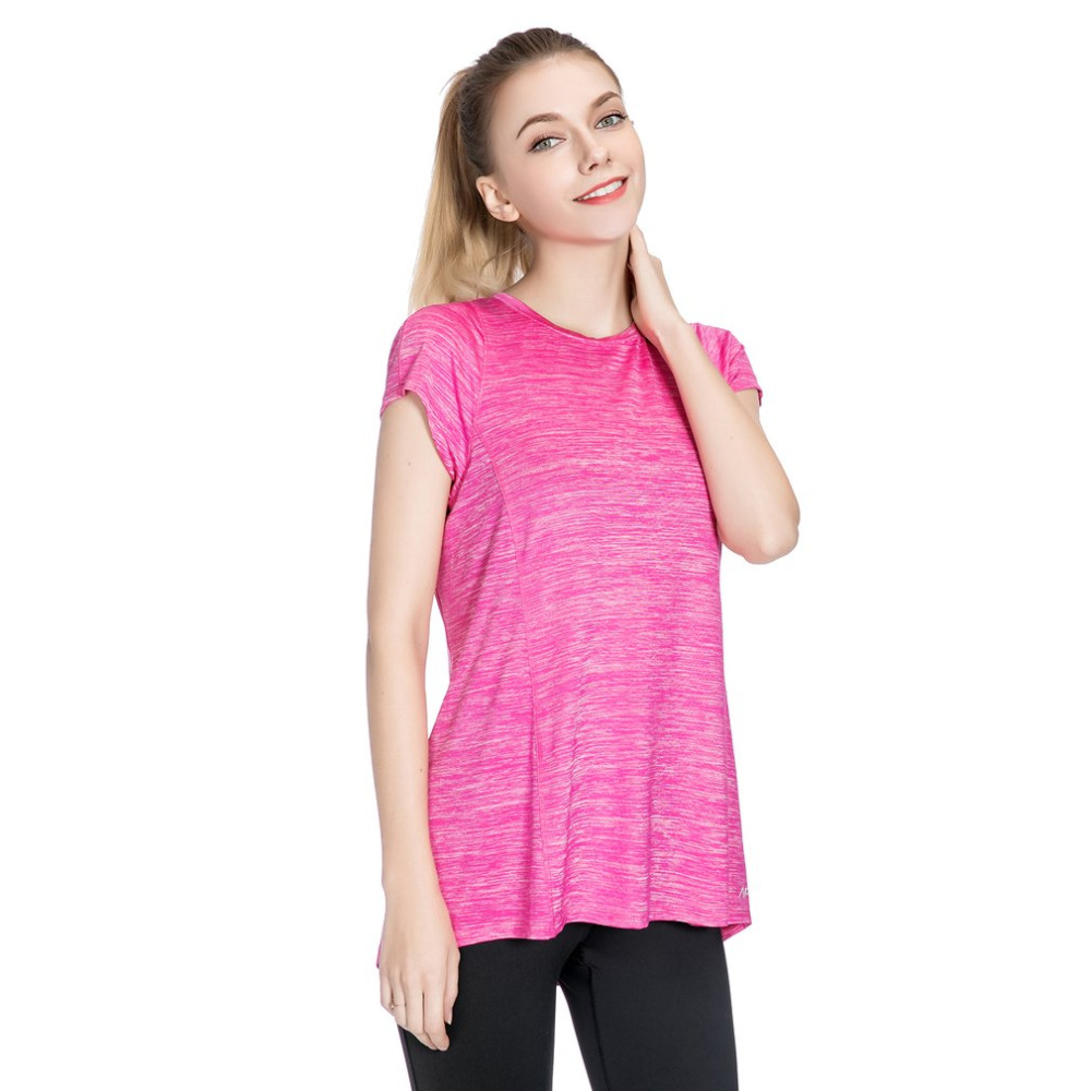 Summer Short Sleeve T-shirts Women Sportswear Cotton Top Female Clothing Ladies For Outdoor Sports Running Gym Yoga S M L XL